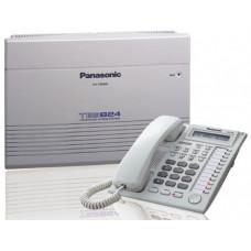 TES824 centrala telefonica analogica